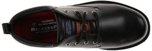 Trabalho Trabalho O Skechers 77019 Antiderrapante Preto Sapato Em Fribble Álamo Para 6BpqRa