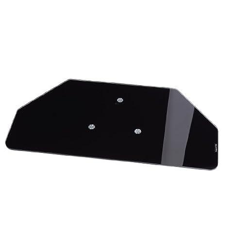 Hama 84027 Plateau rotatif en verre Noir pour LCD / Plasma Charge maxi 70kg