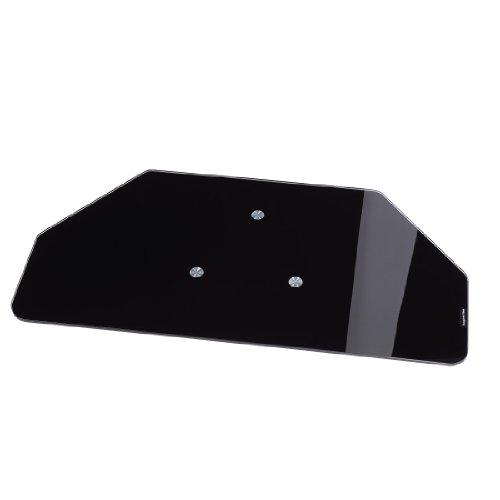fernseher drehscheibe Hama TV-Drehteller (für Fernseher und Monitore bis 60 kg, drehbar um 360°, 80 x 40 cm, Sicherheitsglas) schwarz