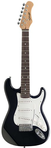 STAGG – GUITARRA ELECTRICA S300 DE N