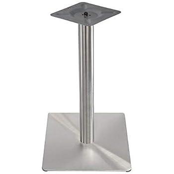 EDELSTAHL Doppel Tischfuß 80x40cmm Tischbein Untergestell