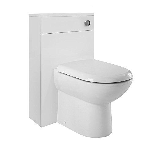 Preisvergleich Produktbild Premier nvm141 Eden WC Einheiten,  weiß glänzend,  500 mm