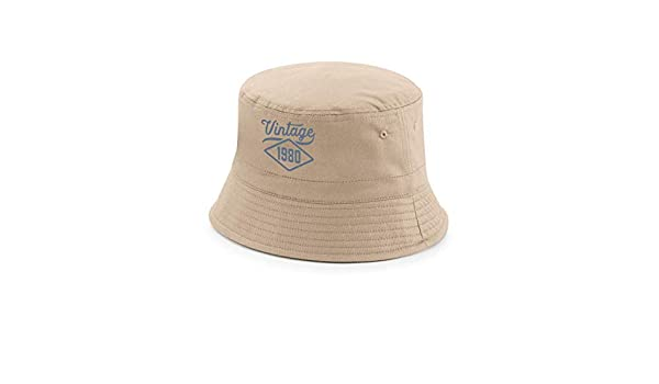 Blue, L//XL Design 40th Birthday Funny Novelty Gift 40 Present for Men Bucket Hat Print Invent