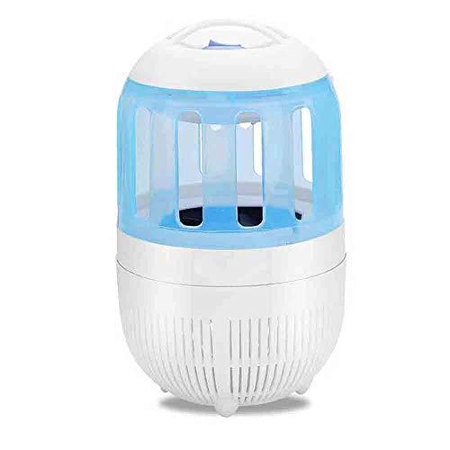 FENGMM Potente Insecto eléctrico Zapper USB Mosquito Killer Led lámpara Mosca Insecto...