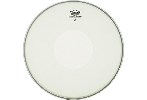 "REMO Batter, CONTROLLED SOUND®, Coated, 13"" Diameter, Clear Dot On Top"