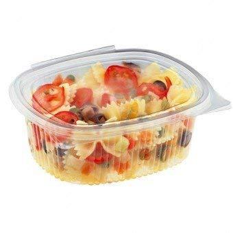Palucart vaschette ovali in pet vaschette alimenti usa e getta 50 pz 500cc