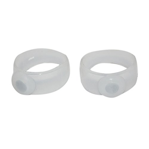 Tiny Deal Pair of Body Slimming Silicone Magnetic Toe Rings Lose Weight Item