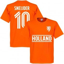 Holland Sneijder 10 Team T-Shirt - orange - XXXXL