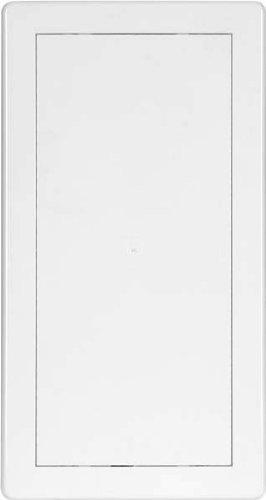 Revisionstür Revisionsklappe weiß 150x300 mm hochwertiger  ASA Kunststoff Einbaurahmen