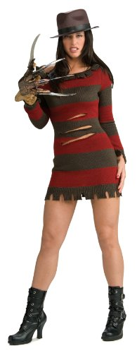 Kostüme Halloween Slash (Rubies 3 888636 M - Kostüm Miss Freddy Krueger Größe)
