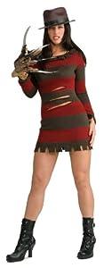Rubbies - Disfraz de Freddy Krueger para mujer, talla M (888636_M)