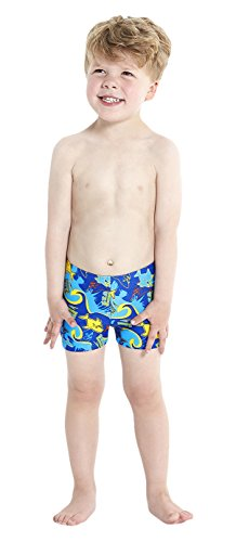 Speedo Baby Badeanzug Seasquad Allover Aquashorts, New Surf/Japan Blue/Salso/Empire Yellow, 2, 8-09218A8562