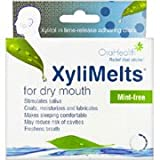 OraCoat XyliMelts Mild Mint for Dry Mouth, 40-Count