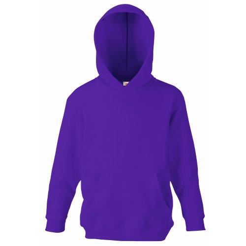 Classic Hooded Sweat Kids - Farbe: Purple - Größe: 116 (5-6) Purple Classic Hoody Sweatshirt