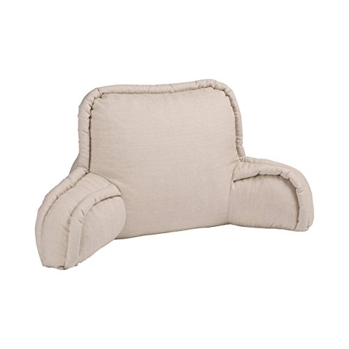 vivaDOMO Bettsessel, Bettstützkissen Rückenlehne Lendenkissen Kissen Bettlesekissen, Sitzhaltung, 80 x 43 cm,