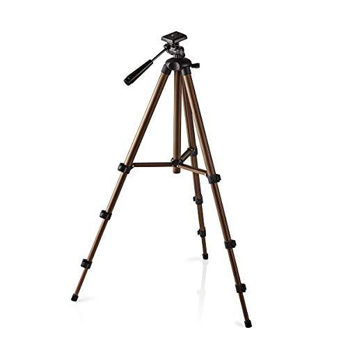 TronicXL 360° Kamerastativ Stativ DSLR Aluminium 130cm für Dreibein Canon Nikon Samsung Canyon Rollei Sony Benq Panasonic Slider lumix g Jede Kamera Universal Fotokamera Videostativ Photostativ Casio Canon Eos