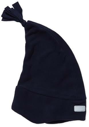 Playshoes Jungen Kinder Fleece Zipfelmütze 422051, Gr. 49, blau (marine)