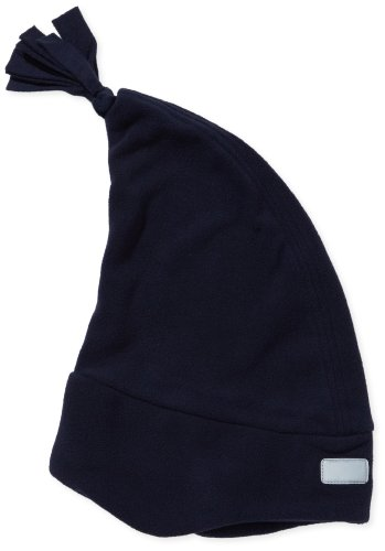 Playshoes Jungen Kinder Fleece Zipfelmütze 422051, Gr. 49, blau (marine) (Marine-blau-jungen-fleece)