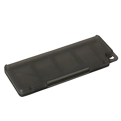 Timorn 10 en 1 plastique Video Card Game Memory Card Case Storage Holder Box pour Sony Playstation PS Vita PSV PSV2000 (3pcs noir)