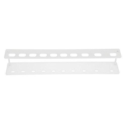 HuntGold brosse à dents porte-pinceau de maquillage support présentoir rangement 10Grille - blanc