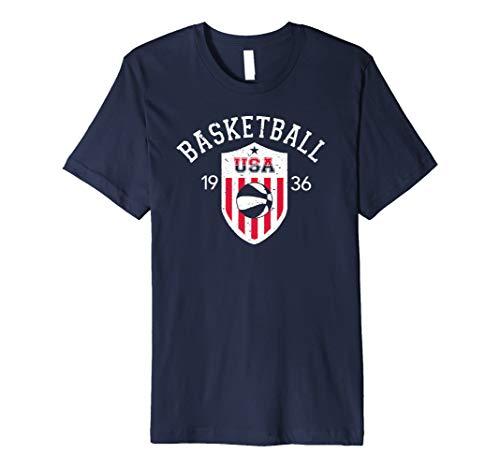 Vintage US National Basketball T-Shirt
