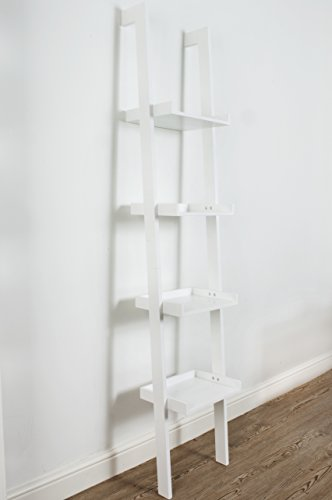 Ladder Leaning Bookshelf ...