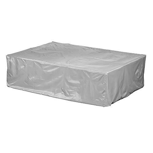 Gartenmöbel Abdeckung / Schutzhülle - Premium Plus Leicht L (255 x 255 x 70 cm) wasserdicht, winterfest, atmungsaktiv - Abdeckplane für Eck-Loungemöbel / Ultraleicht / UV- & Frostbeständig