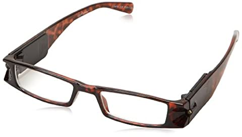 Foster Grant Liberty Rectangular Reading Glasses,Tortoise,2