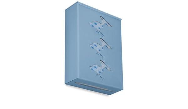 TrippNT 52828 Ultimate Pelican Triple Peekaboo Blue Dual Dispensing Glove Holder 10 Width x 15 Height x 4 Depth 10 Width x 15 Height x 4 Depth
