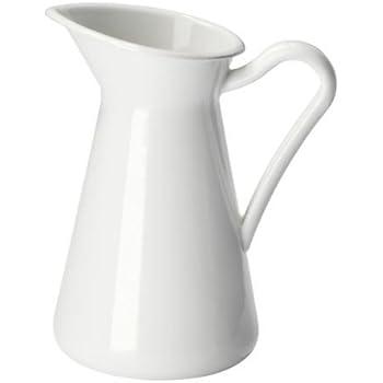 IKEA SOCKERÄRT Vase in weiß; (16cm)