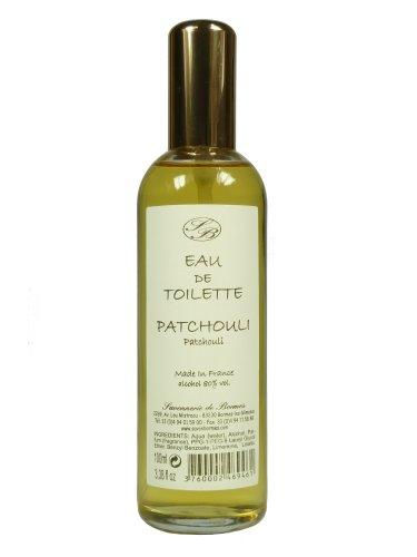 Savonnerie de Bormes: Eau de Toilette Patchouli, 100 ml Flasche mit Zerstäuber (Spray) - Haut-gasse