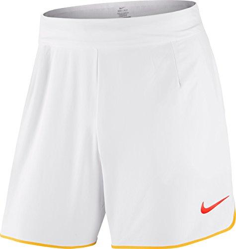 Nike Oberbekleidung Rafael Nadal Gladiator Premier 7 Zoll Shorts weiß, XL (Nadal Nike)
