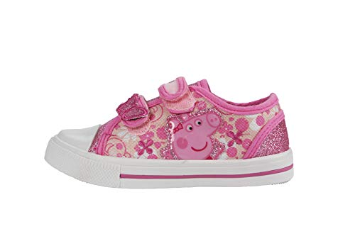 Peppa Pig Paramoor Pink and White Trainers Size 7 Peppa Pig Trainer