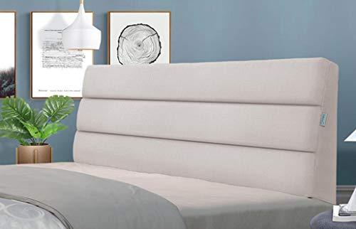 JIMI-I Bedside weiche Tasche großen Rücken Doppelbett Kissen Stoff Bettdecke Tatami abnehmbar und...