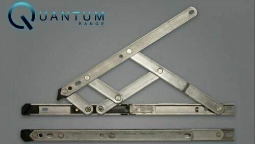 Paire de charnières de fenêtre en UPVC pour fenêtre facile à nettoyer, facile à friction 17 mm