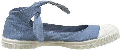 Bensimon - Tennis Flo Pat, Basse Donna Blu (Denim)