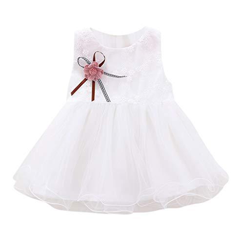 Hokoaidel Sweet Prinzessin Kleider Kinder Spitze Hohle Hochzeits Festlich Kleider Mädchen Kleider Kleinkind scherzt Baby Kleidungs Partei Prinzessin Sommerkleider (Baby Und Mami Kostüme)