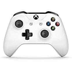 Manette sans fil pour Xbox One - blanc + code Gears of War 4