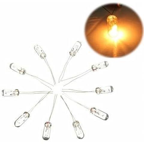 10 mini lampadine per GMC x27-168 passo tachimetro motore