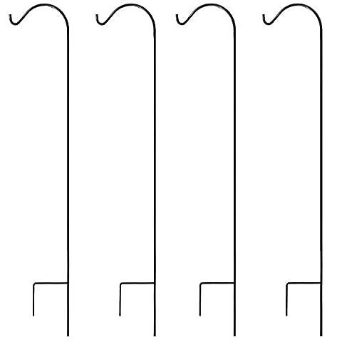 Graybunny Berger Crochet, 1.65m 4-Pack noir