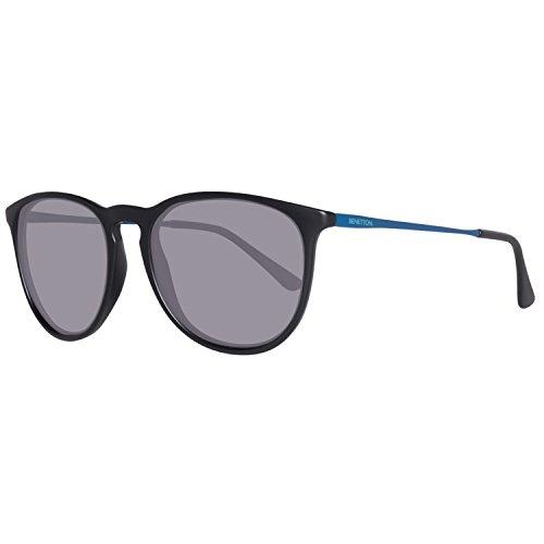 BENETTON BE983S01, Gafas de Sol Unisex, Black, 50