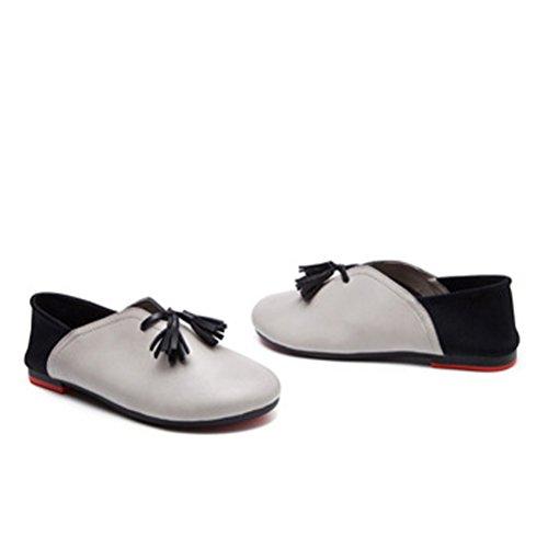Matchlife Chaussure A Semelle Souple, Sandali Donna Grau