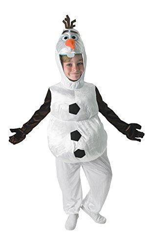 Disney - Disfraz para niño, diseño Olaf de Frozen, talla S (Clementoni)