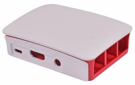 31pfmQFKjqL - Raspberry Pi 3 Official Starter Kit White, con Cargador Oficial, Caja Oficial, microSD Oficial de 16GB con NOOBS, Cable HDMI y disipadores