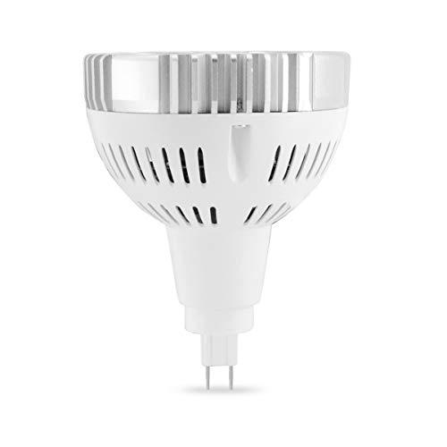 JiuRui LED Strahler LED-Scheinwerferlampe, G12 PAR30 24W 3030SMD PAR30 Scheinwerfer gleichwertiger Ersatz 75W Halogen-Metalldampflampe kaltweiß/warmweiß AC 90-260V (Größe : Warmweiß)