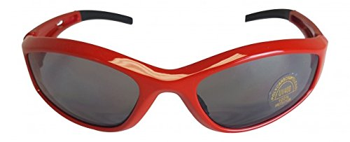 Sonnenbrille Hulk Hogan Retro Rot