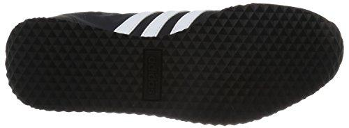 adidas Vs Jog, Scarpe da Corsa Uomo Nero (Negbas/Ftwbla/Onicla)