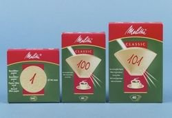 Melitta Rundpapierfilter 100St Ws0700126