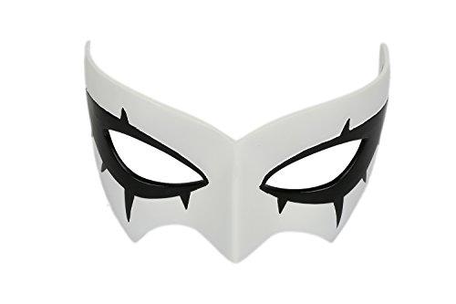 ske Protagonist Masken Augenmaske Cosplay Kostüm Anime Erwachsene Weiße Mask Party Fancy Dress Merchandise Zubehör ()