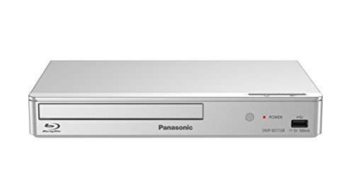 Panasonic DMP-BDT168EG Kompakter 3D Blu-ray Player (Full HD Upscaling, Internet Apps, LAN-Anschluss, USB, MKV-Playback) silber